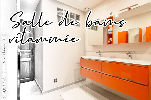 Salle de bains vitaminée